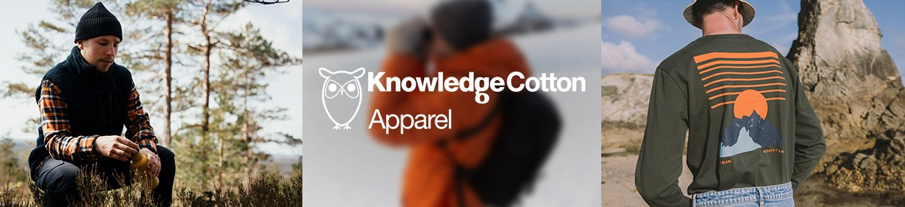 Knowledge Cotton Apparel Poloshirts