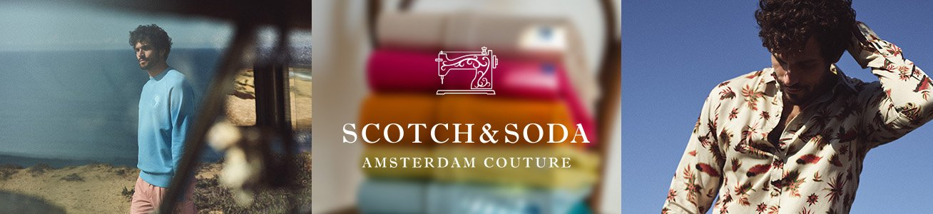 Scotch & Soda Herrenkleding