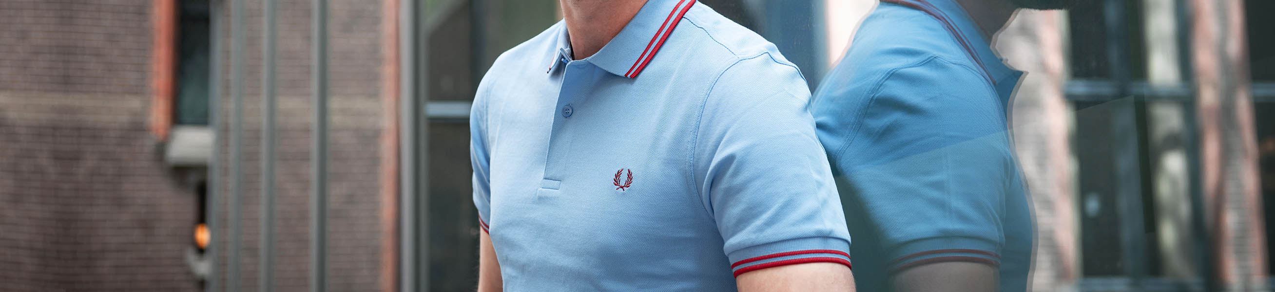 Navy Fred Perry