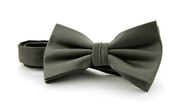 Silk Bow Tie Dark Grey F53