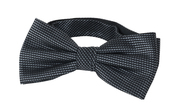 Bow Tie Silk Dark Grey