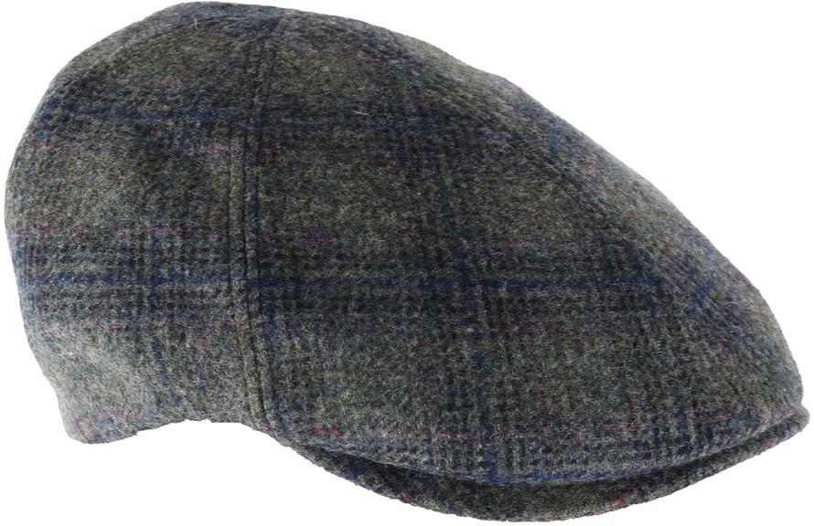 Suitable Hat Ramer Green Check