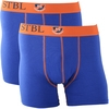 Suitable Boxershort 2Pack Blauw + Oranje
