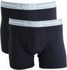Alan Red Boxershorts Navy 2Pack