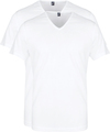 Alan Red Vermont T-Shirt V-Hals Wit (2Pack)