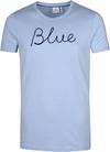 Blue Industry T-Shirt Logo Army