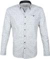 No-Excess Hemd Design Weiß
