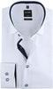 OLYMP Luxor Overhemd Dessin Wit