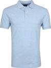 Profuomo Short Sleeve Polo Lichtblauw