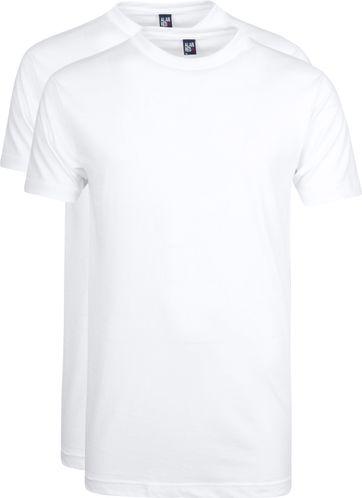 Alan Red T-shirt Virginia O-Neck 2-Pack