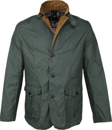Barbour Ashby Wax Jacket Green