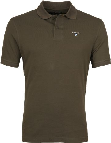 Barbour Basic Poloshirt Army