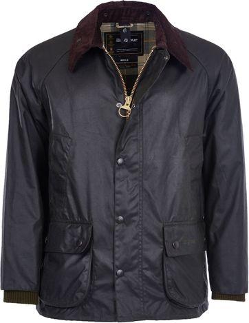 Barbour Bedale Wax Jacket Dark Green