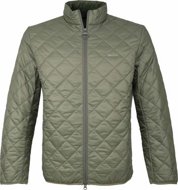 Barbour Belk Quilt Jack Green