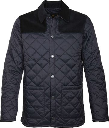 Barbour Gillock Quilt Jacket Navy