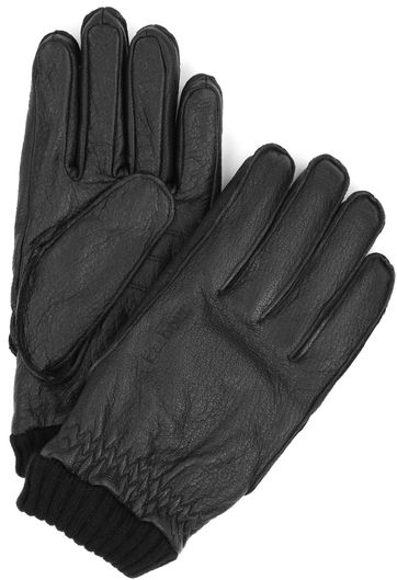 Barbour Gloves Black