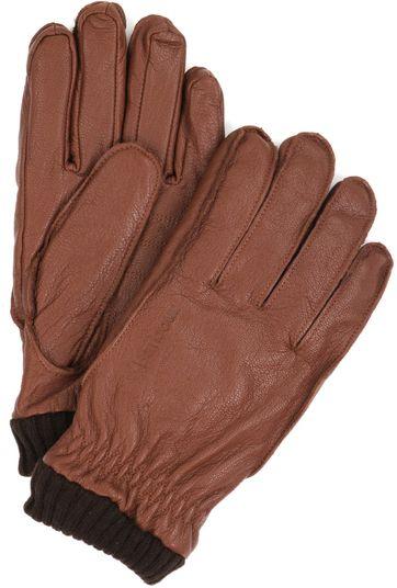 Barbour Handschuhe Camel