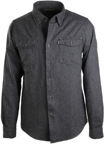 Barbour Port Shirt Dark Grey