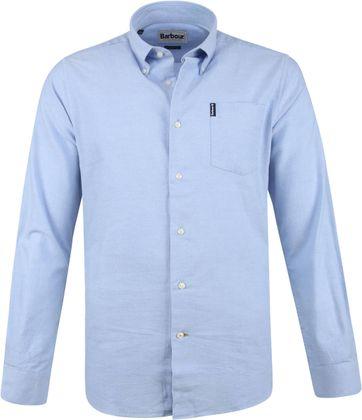 Barbour Shirt Blau