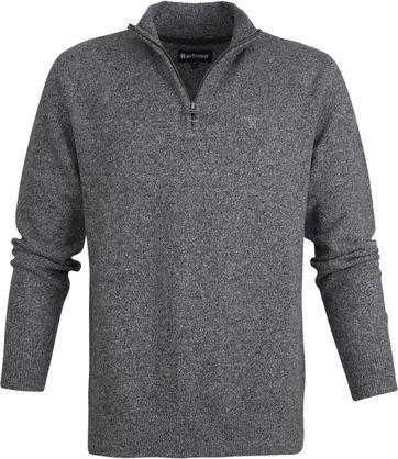 Barbour Tisbury Zip Pullover Grey
