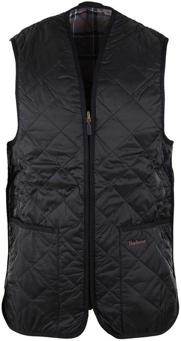 Barbour Waistcoat Modern Tart Black