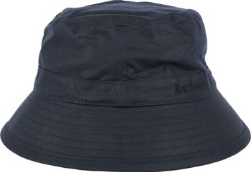 Barbour Wax Hat Navy