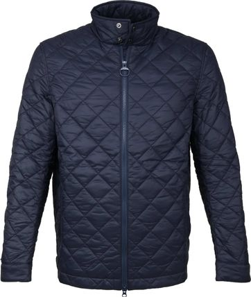 Barbour Woban Quilt Jack Navy