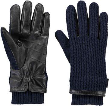 Barts Asher Handschoen Donkerblauw & Zwart