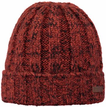 Barts Elroi Turnup Beanie Red