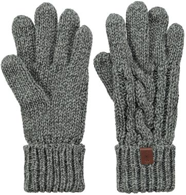 Barts Gloves Twister Grey