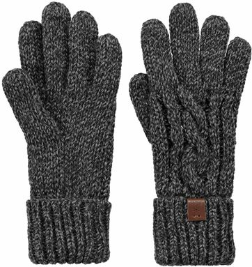 Barts Twister Gloves Dark Grey