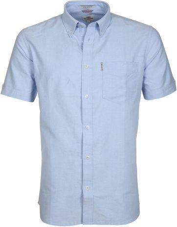 Ben Sherman Shirt Blue Shadow