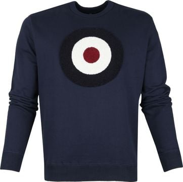 Ben Sherman Sweater Circle Navy