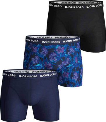 Bjorn Borg Boxershorts 3-Pack Print