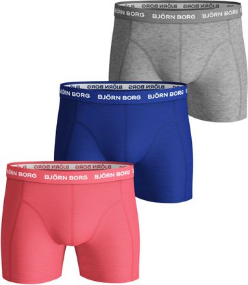 Bjorn Borg Boxershorts Seasonal Solids 3-Pack