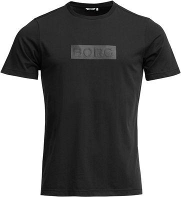 Bjorn Borg T-Shirt Sport Schwarz
