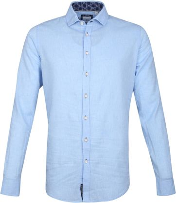 Blue Industry Casual Hemd Blau