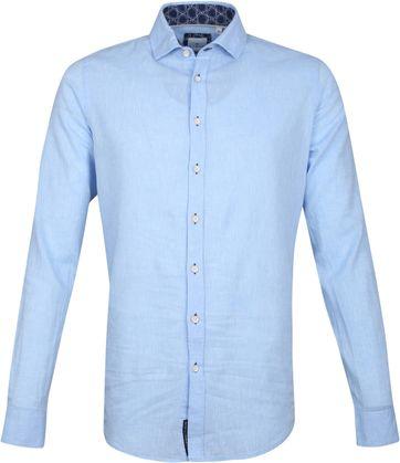 Blue Industry Casual Overhemd Blauw