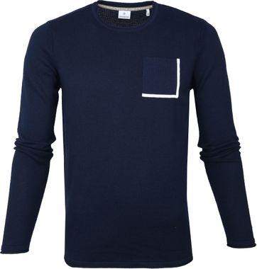Blue Industry Dunkelblau Pullover