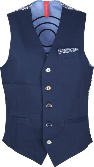 Blue Industry Gilet Donkerblauw