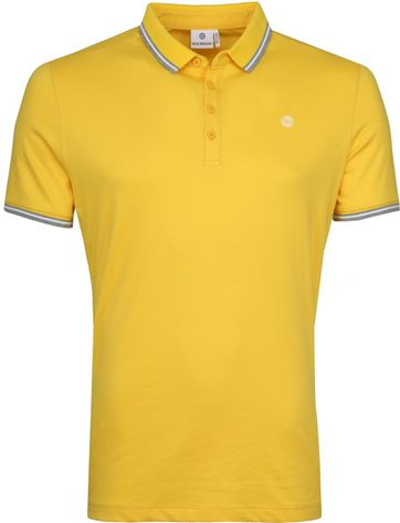 Blue Industry Polo M21 Geel