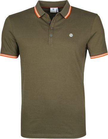 Blue Industry Poloshirt M24 Dark Green