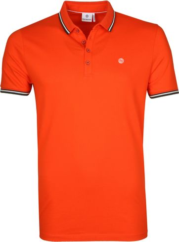 Blue Industry Poloshirt M24 Orange