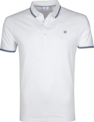 Blue Industry Poloshirt M24 White