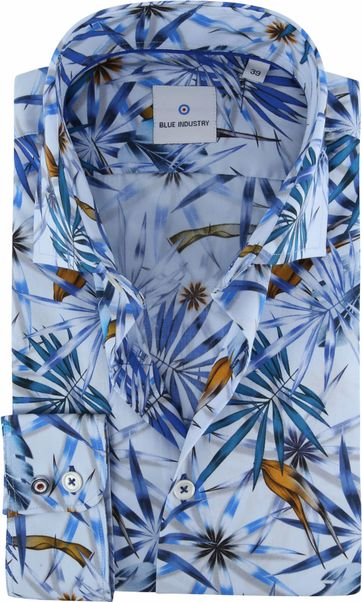 Blue Industry Shirt Tropical Blue
