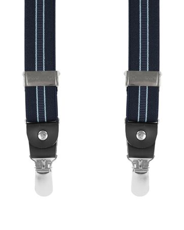 Blue Suspenders Striped