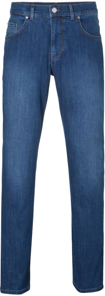 Brax Cooper Denim Jeans Blau Five Pocket