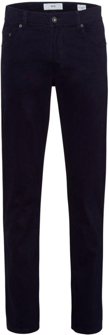 Brax Trousers Cooper Fancy Perma Blue