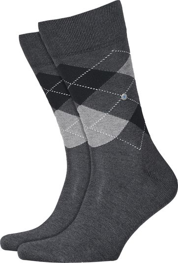 Burlington Socks Checkered Cotton 3095
