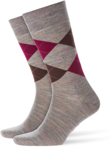 Burlington Socks Edinburgh Melange 7767